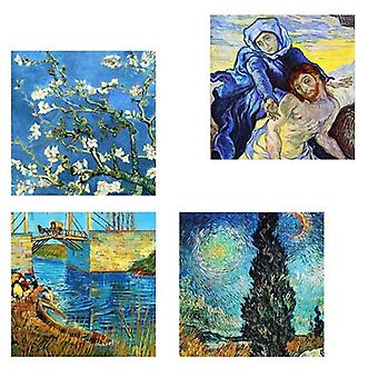 Print on canvas - Van Gogh Paintings - Composition In Blue - Painting on Canvas, Wall Decoration