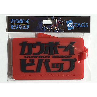 Bagage Tag - Cowboy Bebop - Q-Tag Ny cbb-0215
