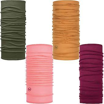 Buff Unisex Lightweight Merino Wool Solid Protective Outdoor Tubular Bandana