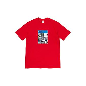 Supreme Verify Tee Red - Clothing