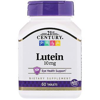 21ème siècle, lutéine, 10 mg, 60 comprimés