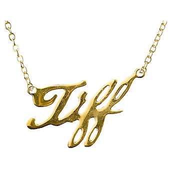 Child's Play Tiffany 18K Gold Necklace Replica