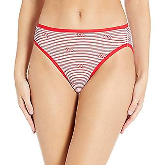 Essentials Women's 6-Pack Bomuld High Cut Bikini Undertøj, Valentines ...