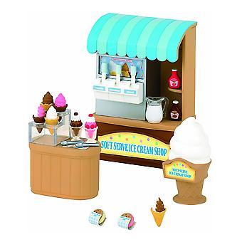 Sylvanian Families - magasin de crème glacée molle