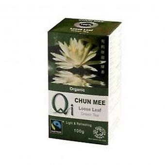 Qi - Org Loose Leaf Chun Mee Tea 100g