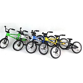 Excellent Quality Bmx Toys Alloy Finger Bmx Functional Kids Bicycle - Finger Bike Bmx Bike Toys Set For Boys (in Random Color)