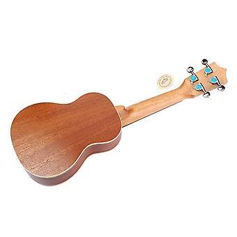 21-calowy mahoniowy ukulele gitara 4 strunowa gitara dla początkujących