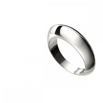 טבעת כיפה מכסף שטרלינג עם רכס R3699