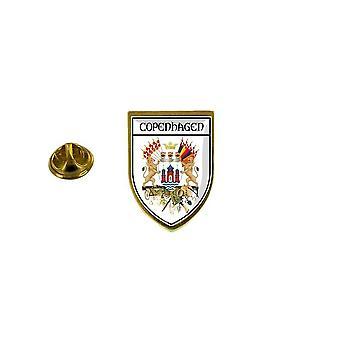 pine pine badge pine pin-apos;s souvenir stad vlag land wapenschild copenhague Denemarken