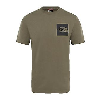 The North Face Fine Mens Fashion Casual T-Shirt Top Tee Green