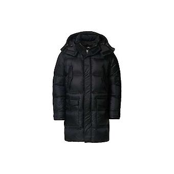 Emporio Armani Down Parka Black Jacket