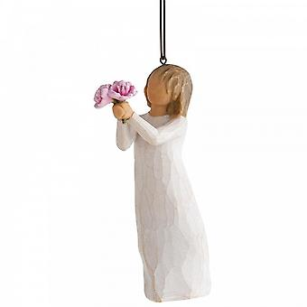 Willow Tree Thank You Hanging Ornament