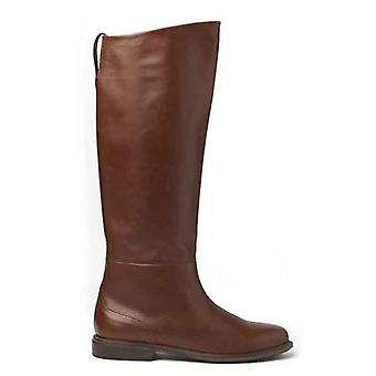 Boot Vic Matiè Tube Color Cognac On Leather Bottom