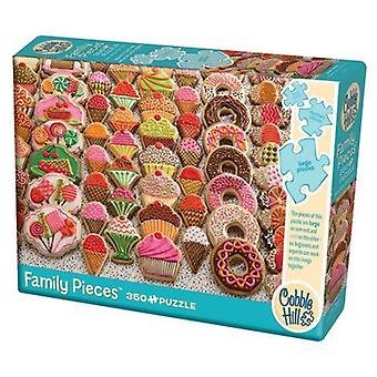 Cobble hill puzzle - sweet treats - 350 pc