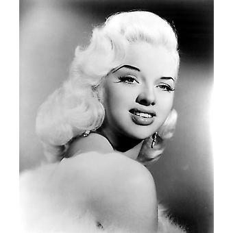 Diana Dors Ca 1957 fotoutskrift