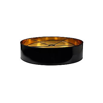 Araminta Round, 600 X 150mm Shade, Gold/black