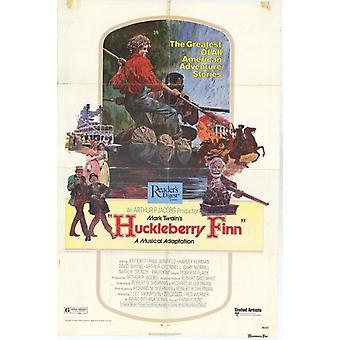 Huckleberry Finn Movie Poster drucken (27 x 40)