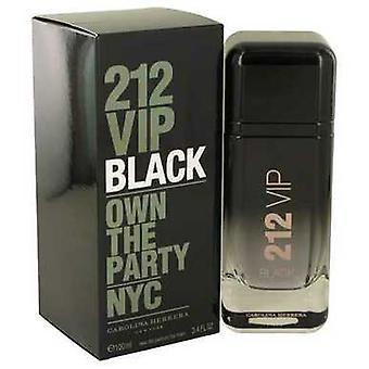 212 Vip Black By Carolina Herrera Eau De Parfum Spray 6.8 Oz (men) V728-541485