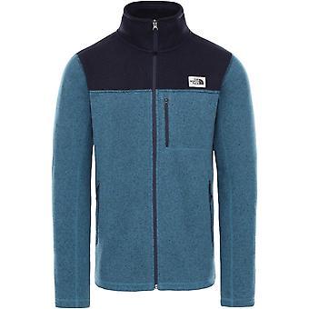 North Face Gordon Lyons Full Zip Jacket - Mallard Blue/Aviator Navy