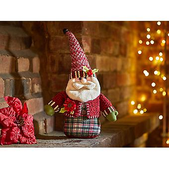 Smart Solar Holly Santa Doorstop 2531048