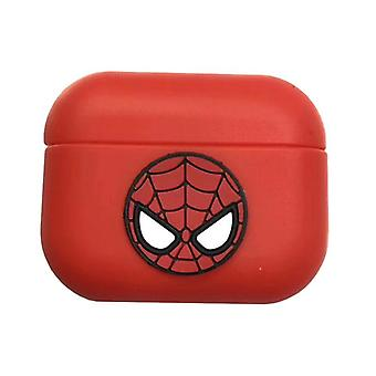 Protective case Avengers silicone case for Apple AirPods Pro Red Spiderman