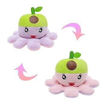 Octopus Desugn Reversible gefüllte Plüsch Puppe