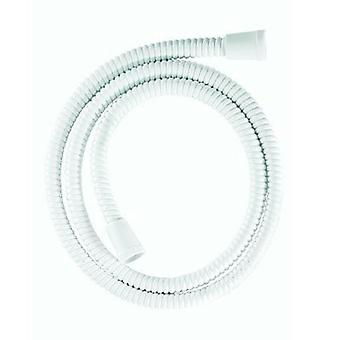 Croydex Shower Hose Universal Essentials Reinforced PVC, 1.25 m, White