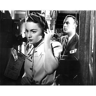 Dawn Olivia Dehavilland Charles Boyer 1941 Fotodruck zurückhalten
