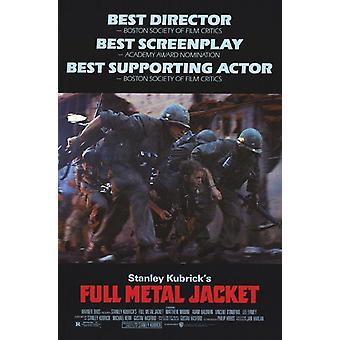 Full Metal Jacket Movie Poster (11 x 17)
