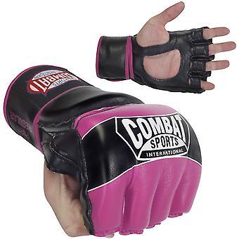 Bestrijding van Sport Pro stijl MMA handschoenen - roze