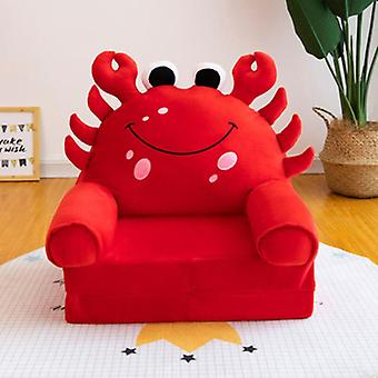 Folding Small Sofa Bed Nap Cartoon Lying Seat/stool Removable And Washable Kids