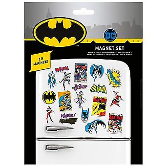 Batman Fridge Magnet Set (Pack of 23)