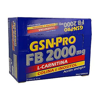 GSN-Pro FB 2000 20 vials of 30ml