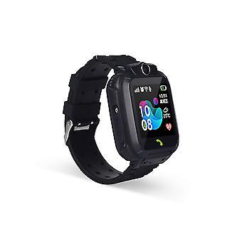 Kids Smart Watch Kids Sos Phone With Sim Card Photo Waterproof (black With Box