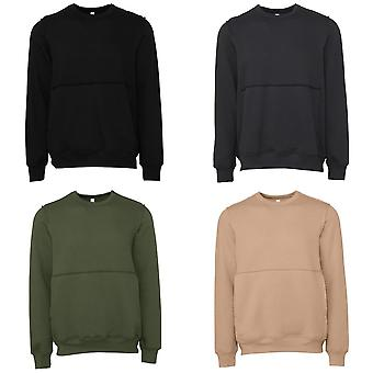 Bella + Canvas Unisex Adult Raw Seam Pullover