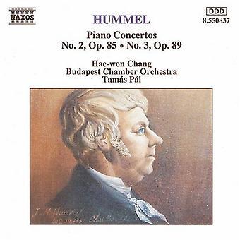 J.N. Hummel - Hummel: Piano Concertos Nos. 2 & 3 [CD] USA import