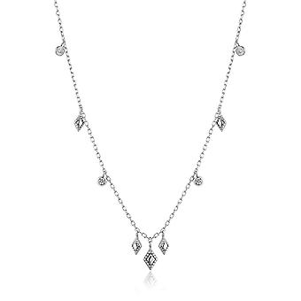 Ania Haie Sterling Silver Rhodium Plated Bohemia Necklace N016-03H