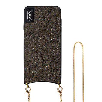 H-basics phone chain for Apple iPhone XS Max necklace case cover