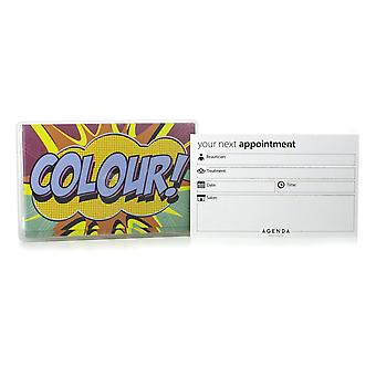 Agenda Colour Tech Appointment Cards (Pack Of 100)
