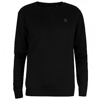 G-Star G- Star Raw Premium Core Crew Sweatshirt Black D16917
