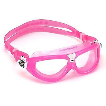 Aqua Sphere Seal Kid 2 Swimming Goggle - Clear Lenses - Pink