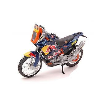 Burago KTM 450 Rally (Dakar Rally)  Motorcycle 1:18