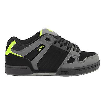 DVS Celsius Shoes - Black / Charcoal / Lime