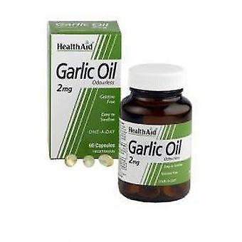 Terveys tuki luonnollinen Valko sipuli öljy 60 Kapselit