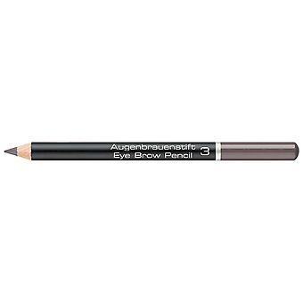 Artdeco Augenbrauenstift # 3 Pehmeä Ruskea 1,1 gr