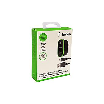 Belkin Wall Charger MixItColor 2.1A with Micro USB Cable - Black