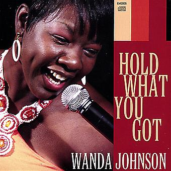 Wanda Johnson - halten was du hast [CD] USA import