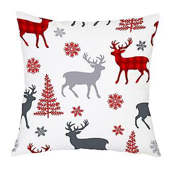 Christmas Pillow Case, Beautiful Pattern, Cushion Sofa, Bedroom Decoration