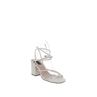 Aqua | Kate tobillo correa bloque tacón sandalias de tacón
