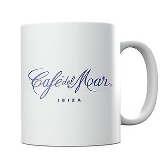 Cafe del Mar Classic Blue Logo Mug